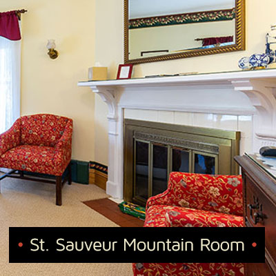 st sauveur mountain room